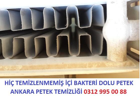 Buharlı Kalorifer Peteği Temizliği, Kombi Petek Temizliği Ankara